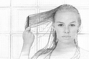 Наращивание на тонкие волосы